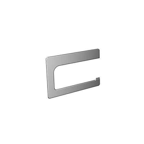 Emco Art Toilettenpapierhalter, chrom, Klopapierhalter, ohne Deckel, Rollenhalter, Wandmontage - 160000101