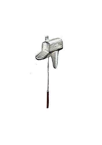 FT410 Briefkasten, US-Stil, 2,4 x 2,9 cm, englisches Zinn auf Krawattennadel, Hut, Schal, Kragen, Versand von US Geschenken für alle 2016 von Derbyshire UK