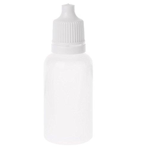 JERKKY Flacon Compte-Gouttes Compressible 1 Pièce Bouteilles Compte-Gouttes Compressibles en Plastique Vide Contenant Compte-Gouttes Liquide pour Les Yeux