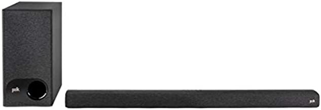 Polk Audio Signa S3 Ultra-Slim TV Sound Bar and Wireless Subwoofer with Built-in Chromecast | Works with 8K, 4K & HD TVs | Wi-Fi, Bluetooth | Voice Commands with Google Assistant