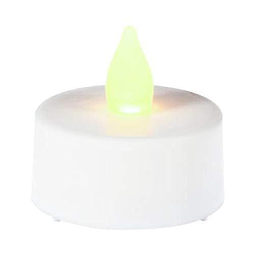 Paris Prix Home Sweet Light - Lot de 18 Bougies LED 4cm Blanc