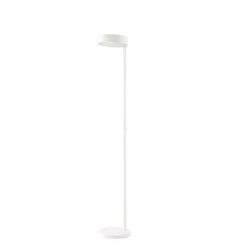 Faro Barcelona 57201 - NEXO Sobremesas y lámparas de pie, 15W, metal+cristal translúcido, color blanco
