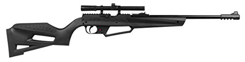 Umarex NXG APX Multi-Pump Pneumatic Youth .177 Caliber Pellet or BB Gun Air Rifle - Includes 4x15mm Scope, Combo Kit (with Glasses, Ammo & Targets)
