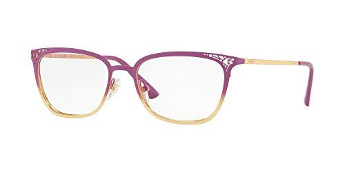 Vogue 0VO4103 Monturas de Gafas, Top Violet Gradient On Gold, 52 para Mujer
