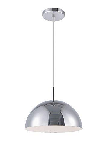 E27 moderne creatieve hanglamp hanglamp klassiek metaal glas hanglamp in industrieel beton design met glasplaat voor woonkamer eetkamer verlichting in hoogte verstelbaar grijs beton max. 60 W.