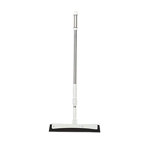 Natte Kamer Vloerwisser Wiper Badkamer Rubber Blade lange steel telescoopsteel-Best for het wassen, drogen, Badkamer