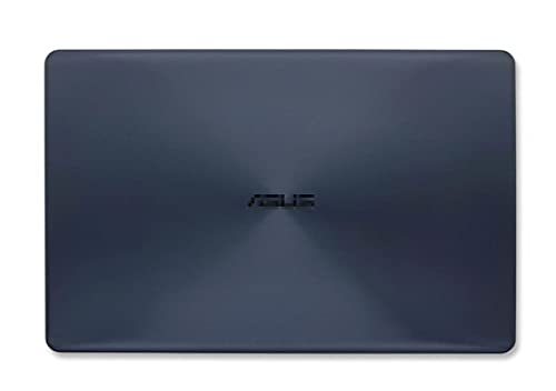 HuiHan Replacement for ASUS X542 X542UR X542UQR X542UN X542UQ Series Rear LCD Top Case Back Cover (Blue A)