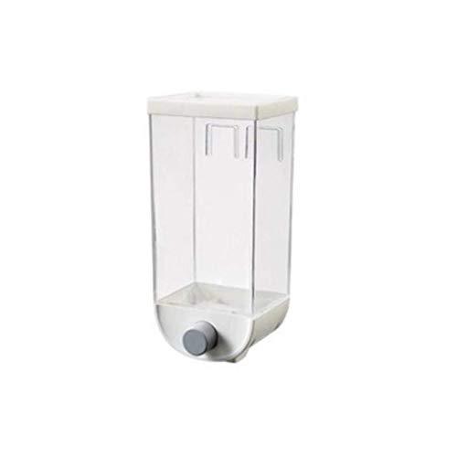 FASEY 2pcs Cucina Cereali Dispenser, Parete Cibo Contenitore di immagazzinaggio, Granaio Contenitore Ideale 1000/1500 ml (Color : 2pcs, Size : L)