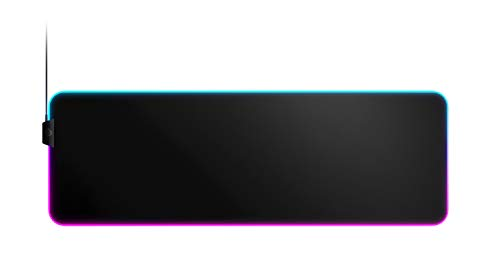 SteelSeries QcK Gaming Surface - XL RGB Prism Cloth Optimized For Gaming Sensors