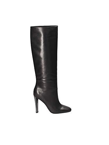 Guess Stivali FLKCE4-LEA11 Scarpe Donna Tacco Alto in Pelle nera 39