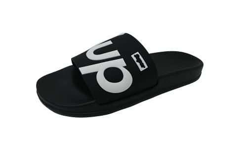 Zapatillas Chanclas de Piscina Playa También de Estar por Casa Modelo Unisex Talla 36-41 EU (Negro, numeric_39)