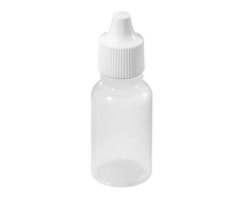24 pcs 50ml gouttes d'yeux en plastique vides bouteille bouteille/bouteille bouteilles bouteilles de cosmétiques de voyage pot de récipient avec un joint d'étanchéité