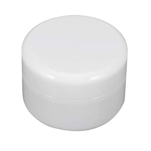 sdfghzsedfgsdfg Cremeglas Flasche Runde leer PP Kunststoff Kosmetikbehälter für Schönheit Kleine Probe Make-up Unterabfüllung mit Schraubverschlüssen