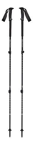 Black Diamond Trail Back Trek Poles Bastones de Senderismo, Unisex-Adult, Raging Sea, 63-140 cm