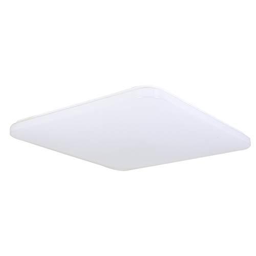 Fscm 24W LED Deckenleuchte Lampe Modern Deckenlampe, Deckenleuchten für Flur Wohnzimmer Schlafzimmer Küche, PVC Weiss Rahmen Platz 330 * 330 * 45mm, 6000-6500K Kaltweiß IP44 (24W Kaltweiß)