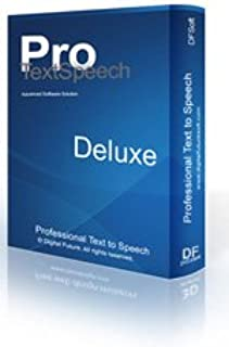 TextSpeech Pro Deluxe Text-to-Speech Converter for Windows with Natural Voices