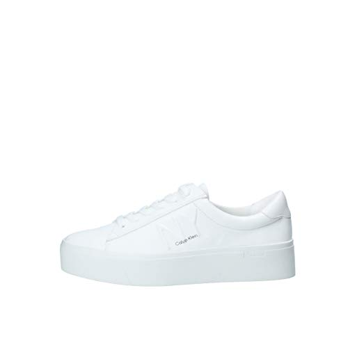 Calvin Klein Sneaker Low Jamella Weiss Damen - 37 EU