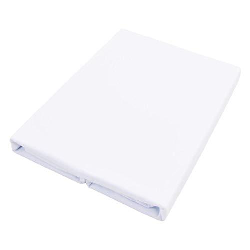 フラットシーツシングル綿100%日本製防ダニ150X250cmオックス厚手ホワイト白