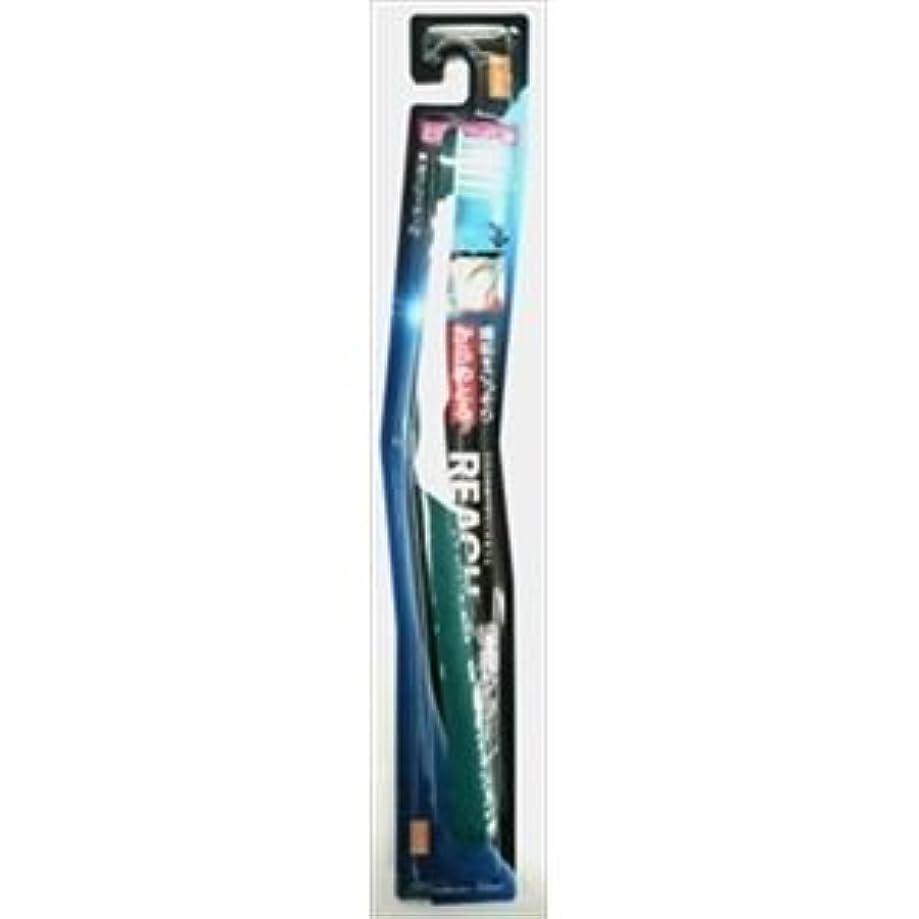 フック不調和終わり(まとめ)銀座ステファニー リーチ歯ブラシ リーチ 歯周クリーン とってもコンパクト やわらかめ 【×12点セット】