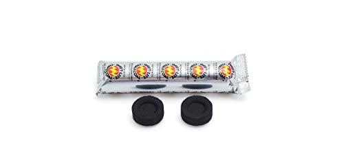 The Smudge Stick Shop Tubo de 10 pastillas de carbón para quemadores de resina e incienso.