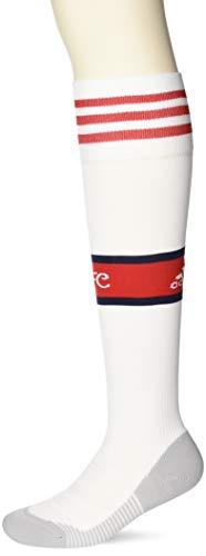 adidas Performance Arsenal Socken, Weiß/Scarlett, Size 43-45