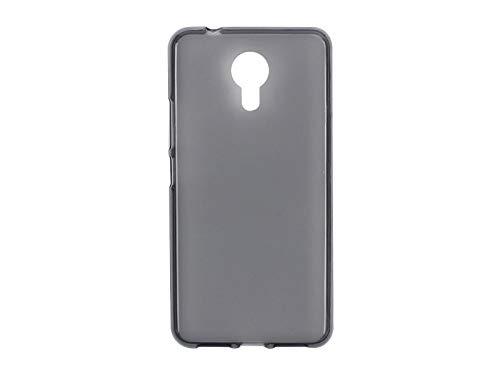 etuo Handyhülle für Allview X4 Soul Style - Hülle FLEXmat Hülle - Schwarz - Handyhülle Schutzhülle Etui Hülle Cover Tasche für Handy