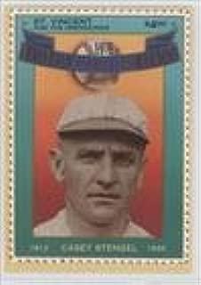 Casey Stengel (Baseball Card) 1992 St. Vincent and the Grenadines Baseball Hall of Fame Heroes Stamp Cards - Box Set [Base] #10