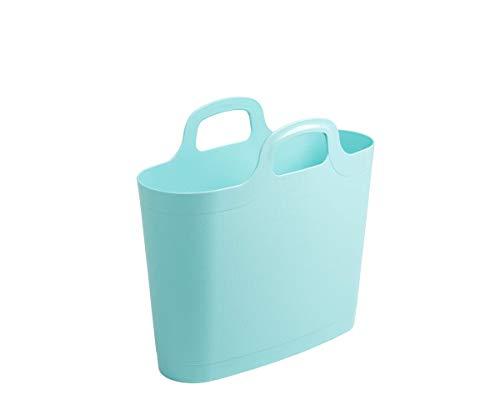 WHAM Medium Flexi Bag Tragetasche, Einkaufstasche aus Kunststoff - 12,5 Liter - blau