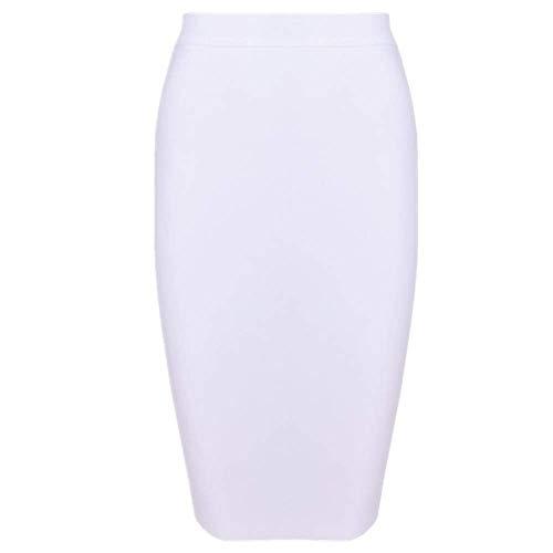 N\P Sexy Girl - Falda de cintura alta para mujer