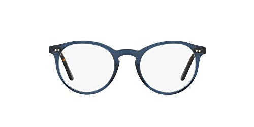 Polo Ralph Lauren 0PH2083, Monturas de Gafas para Hombre, Azul (Blue Transparent), 48