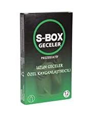 S-Box Strawberry, Prezervatif, 12'li