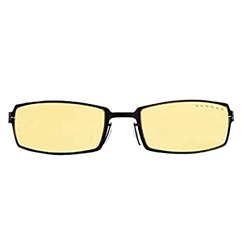 Gunnar PPK Z Gloss Onyx - Gafas para PC y videoconsola (antirreflectantes), Color Negro