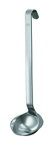 RÖSLE Haken Saucenlöffel, Edelstahl, 25,5 cm