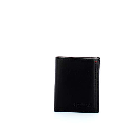 Calvin Klein Smooth Essential NS Mini 6CC Coin Pocket Black