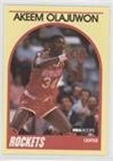 Hakeem Olajuwon (Basketball Card) 1989-90 NBA Hoops Superstars - Box Set [Base] #38