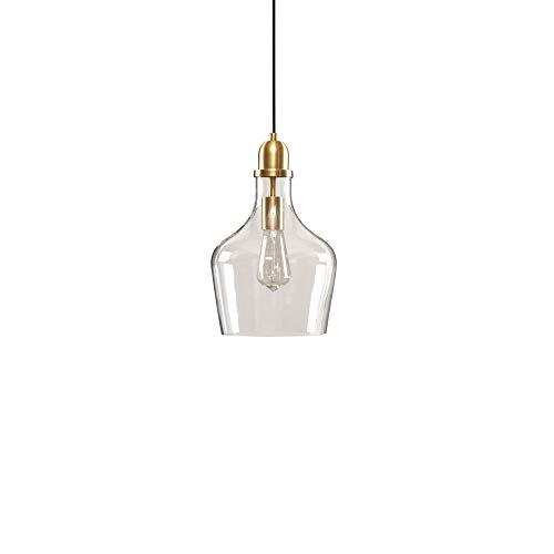 Hampton Hill Auburn Gold Modern Chandeliers Pendant Hanging Lamp Ceiling, Dining Room Lighting Fixtures, 8