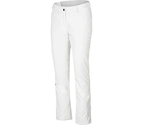 Ziener Damen TENUKI Pants ski Skihose, White, 40