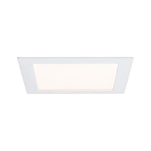 Preisvergleich Produktbild Paulmann Premium Line Panel Ceiling Lighting (Indoor,  White,  Recessed,  Satin,  Square,  Aluminium,  Plastic)