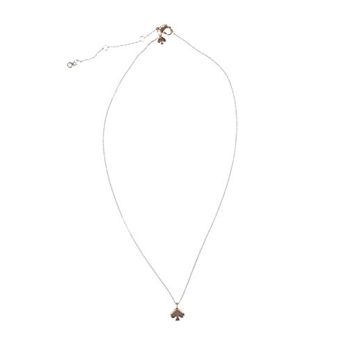 Kate Spade Everyday Spade Mini Pendant Necklace in Rose Gold