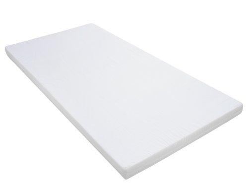 Schardt Komplettbett Conny | In Weiß | Inklusive Bett-Set Sternchen Grau, Matratze und Himmelstange | 70 x 140 cm
