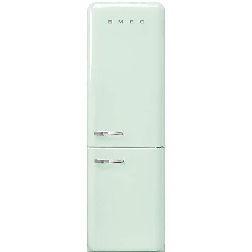 Réfrigérateur combiné Smeg FAB32RPG3 - Réfrigérateur congélateur bas - 331 litres - Réfrigerateur/congel : Froid brassé / No Frost - Dégivrage automatique - Vert - Classe A+++ / Pose libre