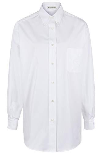 Etro Damen Oversize Bluse Weiss - 36 (IT42)