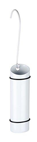 WENKO Humidificador de acero inoxidable blanco, Acero inoxidable, 6 x 20 x 4 cm, Blanco