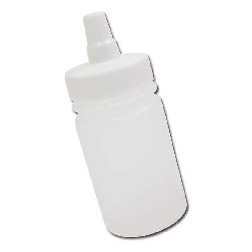 と抱擁無意識はちみつ容器100ml(ホワイトキャップ)│ストレート型 業務用ローションや調味料の小分けに詰め替え用ハチミツ容器(蜂蜜容器)はちみつボトル