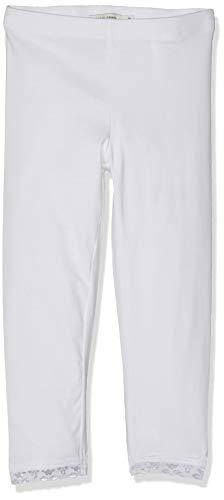 Name IT NOS Mädchen NKFVISTA Capri NOOS Leggings, Weiß (Bright White), (Herstellergröße: 128)
