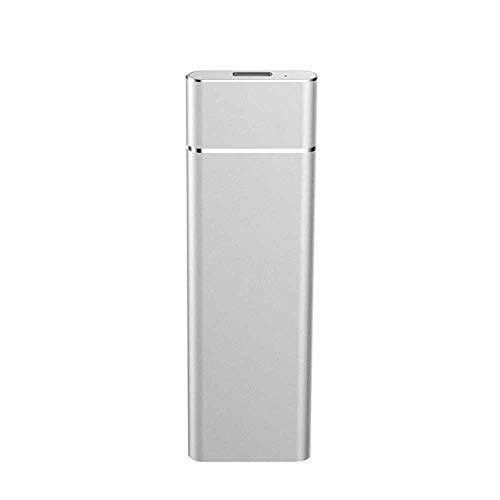 Disco Duro Externo Metal Mini SSD Ultradelgado móvil SSD USB3.1 Anti-vibración y Anti-caída. (250GB)