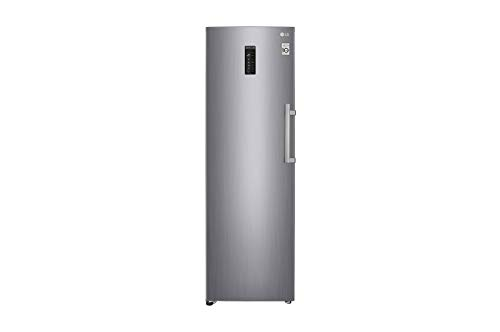 LG GF5237PZJZ1 Independiente Vertical Acero inoxidable 313 L A++ - Congelador (Vertical, 313 L, 14 kg/24h, T, Sistema de descongelado, A++)