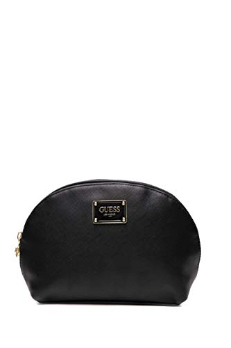 Guess Bahia Dome - Neceser para Mujer, Color Negro