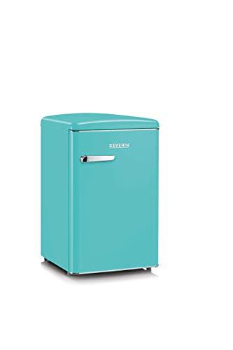 Severin RKS 8834 Retro Frigorifero e Congelatore, 106 L, 41 Decibel, Tiffany
