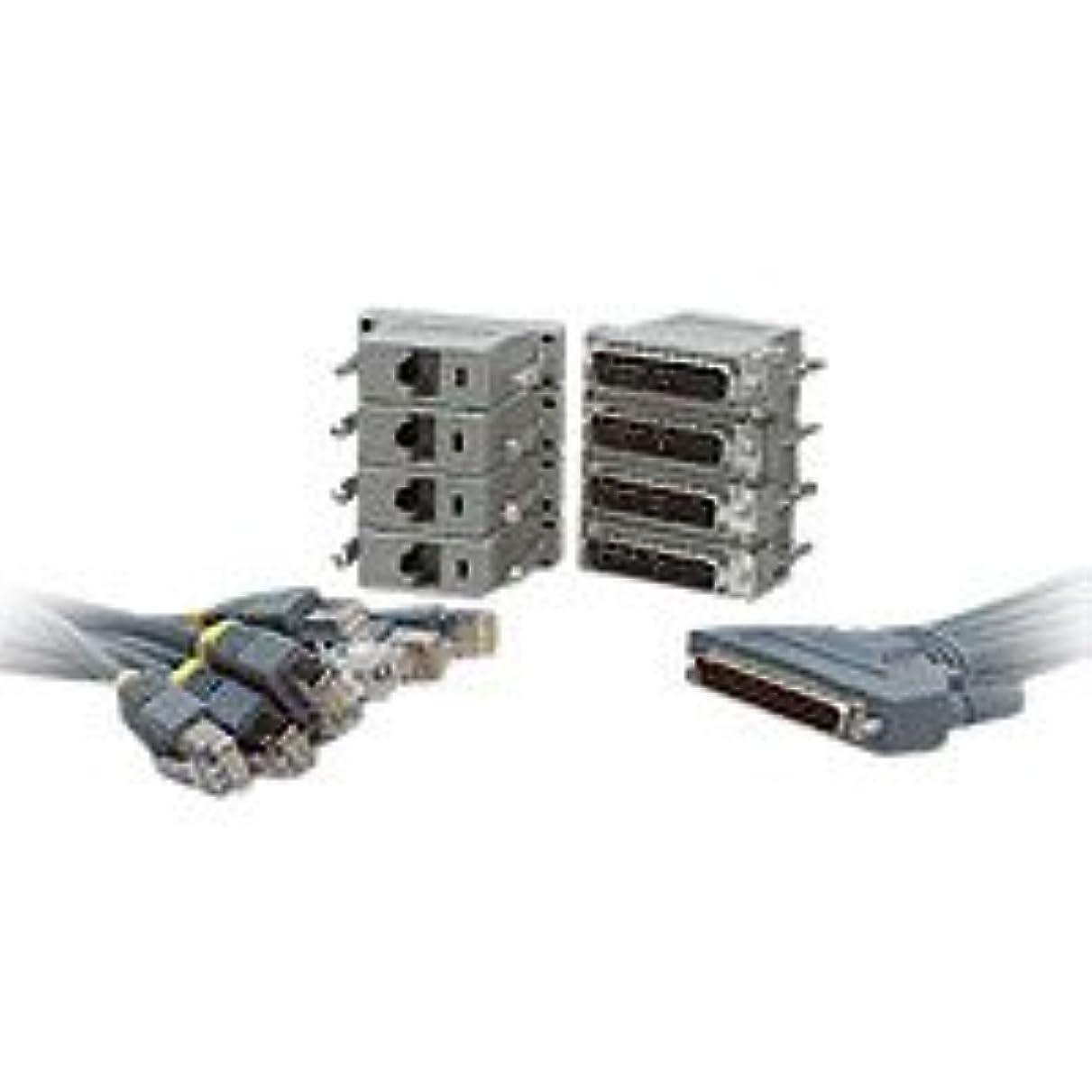 広がり染色モニカCISCO Octal Cable and 8 Male DB-25 Modem CAB-OCTAL-KIT=